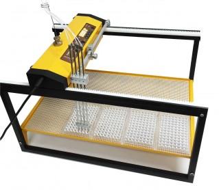Adaptation du collecteur de fractions pour la distribution de 4 flux dans une microplaque 96 puits